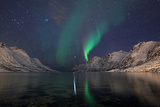 Northern Lights Photographic Print by Sandra Kreuzinger