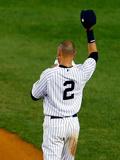 Sep 25, 2014, Baltimore Orioles vs NY Yankees - Derek Jeter's Last Home Game at Yankee Stadium Photographic Print by Mike Stobe
