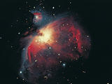Great Orion Nebula Photographic Print by Digital Vision.