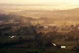 Sunrise Southern Farm Land Photographic Print by Wesley Hitt