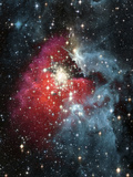 Gas Nebula - Deep Space Photographic Print by Steve Allen