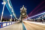 Tower Bridge Trails Photographic Print by Matt Parry Photography