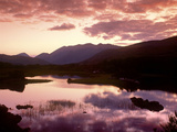 Sunset over Upper Lake, Killarney Photographic Print by Brian Lawrence