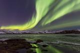 Kleifarvatn - Aurora Borealis Photographic Print by Bkort photography