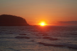 Sunset over Shiretoko Peninsula Photographic Print by Keiki HAGINOYA/a.collectionRF