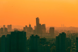 Yeouido Skyline Photographic Print by Gw. Nam