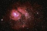 Lagoon Nebula Photographic Print by  Stocktrek