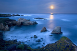 Dawn Moonset at Garrpata State Park Photographic Print by Don Smith