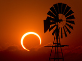 2012 Annular Solar Eclipse Photographic Print by Willoughby Owen
