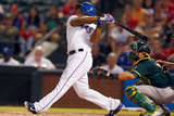 Sep 25, 2014, Oakland Athletics vs Texas Rangers - Adrian Beltre Photographic Print by Tom Pennington