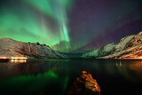 Nightview in the Fjord Photographic Print by John Hemmingsen
