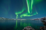 Northern Lights in Simavika Photographic Print by Bernt Olsen
