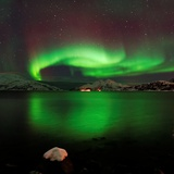 Aurora Borealis Photographic Print by John Hemmingsen