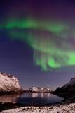 Nightshot in Grotfjord Photographic Print by John Hemmingsen