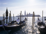 St Mark's Basin, Venice Photographic Print by Brian Lawrence