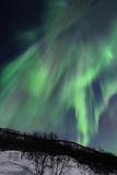 Aurora Borealis Corona Photographic Print by John Hemmingsen