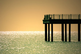 Pier Photographic Print by Kevin Button