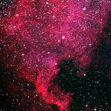 North American Nebula, near Deneb Photographic Print by a. v. ley