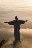 Cristo Redentor, Christ the Redeemer, Brazil Photographic Print by Peter Adams