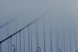 Golden Gate in the Fog Photographic Print by Stefano Salvetti