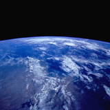 Earth from Space Photographic Print by  Stocktrek