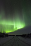 Northern Light in the Sky, Finland, Scandinavia Photographic Print by David Clapp