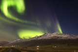Aurora Borealis or Northern Lights Photographic Print by  Arctic-Images