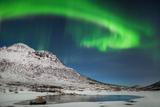 Aurora Borealis, Tromso, Arctic Norway Photographic Print by Simon J Byrne