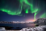 Nightsky in Troms Photographic Print by John Hemmingsen