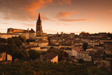 St-Emilion, Wine Town Photographic Print by Walter Bibikow