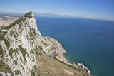 View from Top of the Rock, Gibraltar, U.K. Photographic Print by Barry Winiker