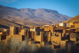Ancient Kasbah's in the Dades Gorge Photographic Print by Doug Pearson