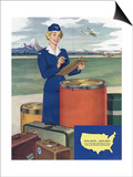 Airlines, USA Posters