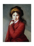 Portrait of the Countess Nathalie Golovine by Marie Elisabeth Louise Vigee Lebrun Giclee Print