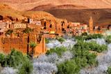 Village in Maghreb Fotografisk tryk af Visions Of Our Land