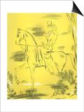 Woman Riding, 1939, UK Prints