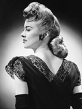 Glamorous Woman Posing Photographic Print by George Marks