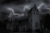 A Composite of a Church in England. Photographic Print by Hans Neleman