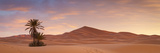 Sunrise over the Majestic Erg Chebbi Desert. Photographic Print by Doug Pearson