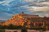 Ait Benhaddou at Sunset Photographic Print by Jeremy Meyer