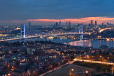 Bosphorous Bridge, Istanbul Photographic Print by Salvator Barki
