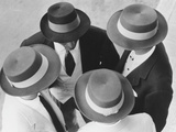 Italian Hats Papier Photo par Hulton Collection