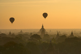 Bagan Pagodas in the Morning Photographic Print by Gavriel Jecan