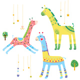 Close-Up of Giraffes Photographic Print by Eastnine Inc.