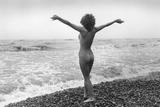 Nudist Beach Photographic Print by Evening Standard