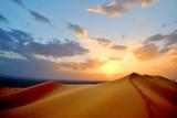 Sundown on Dune Photographic Print by Rodrigo Paz