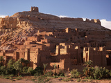 Kasbah of Ait Benhaddou, Atlas Mountains Photographic Print by Brian Lawrence