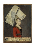 Portrait of Macee Leodepard, Wife of the French Trader Jacques Coeur Giclee Print