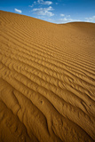 Patterns on Sand Dune Photographic Print by Santiago Urquijo
