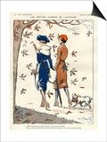La Vie Parisienne, Georges Pavis, 1919, France Prints
